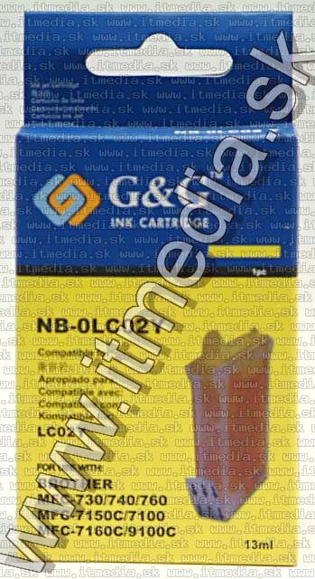 Image of Brother ink (GnG) LC02 yellow 13ml (IT4806)