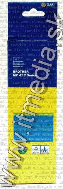 Image of Brother ink (GnG) LC03 Black-Cyan 15ml (IT4807)