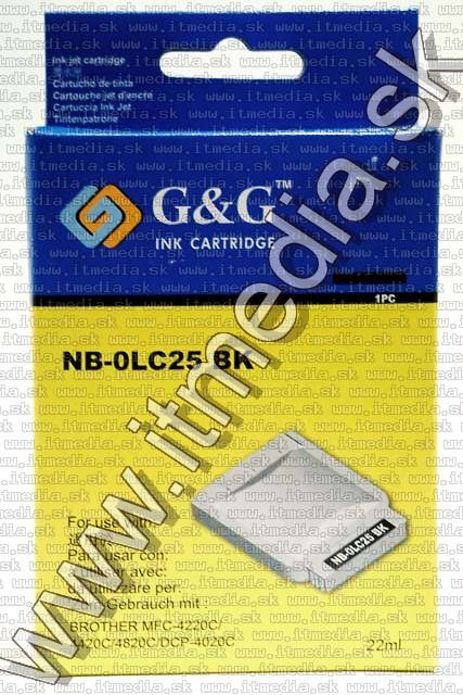 Image of Brother ink (GnG) LC25 black 22ml (IT4813)