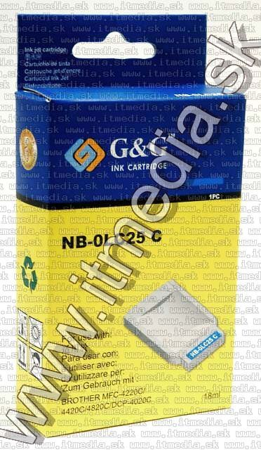 Image of Brother ink (GnG) LC25 cyan 18ml (IT4814)