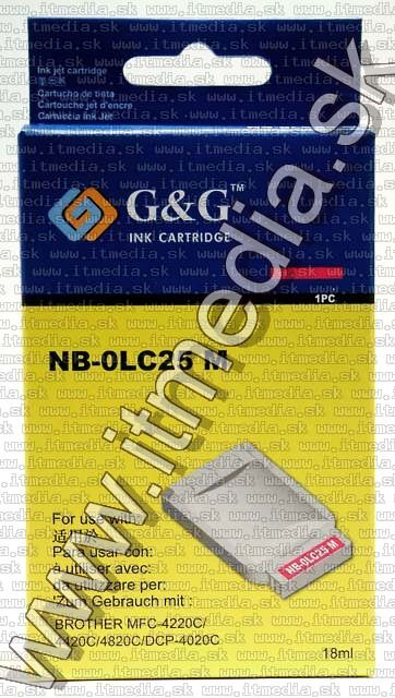 Image of Brother ink (GnG) LC25 magenta 18ml (IT4815)