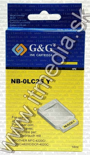 Image of Brother ink (GnG) LC25 yellow 18ml (IT4816)