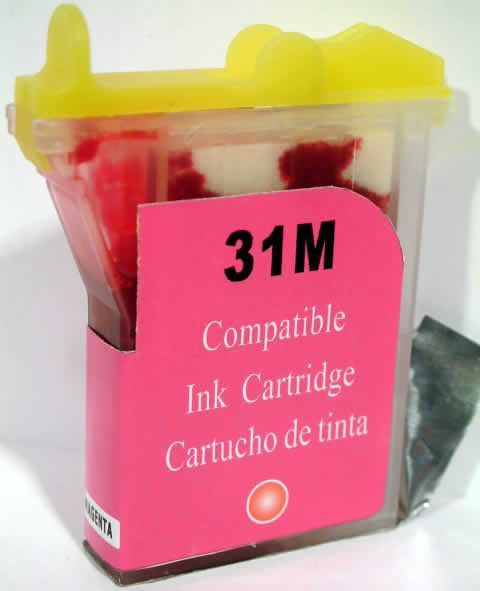 Image of Brother ink (itmedia) B-31 magenta (LC800M) (IT0163)