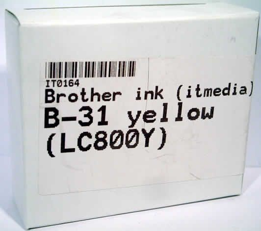 Image of Brother ink (itmedia) B-31 yellow (LC800Y) (IT0164)