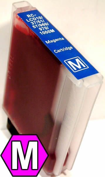 Image of Brother ink (itmedia) LC51 B57 magenta 1000 *HC 35ml* (IT0651)