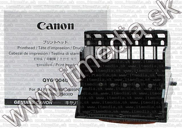 Image of Canon Print Head QY6-0040-000 (S820, S839) (IT5417)