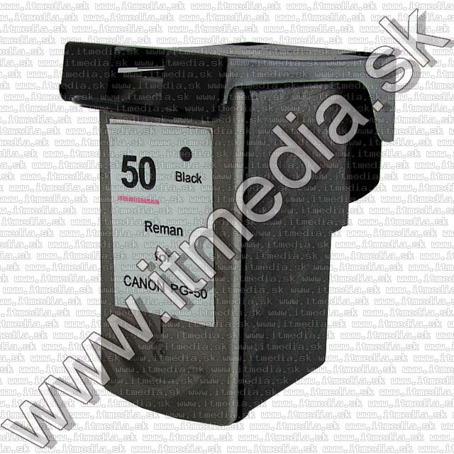 Image of Canon ink (ezPrint) PG-50 black *Remanufactured* 24ml (IT6848)
