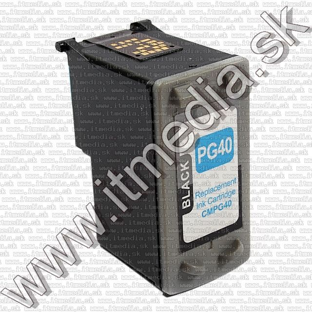 Image of Canon ink (itmedia) PG-40 black *Reman.* ECO SIL (IT0642)