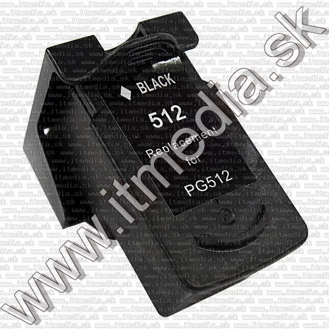 Image of Canon ink (itmedia) PG-512 (PG-510) Black 12ml ECO SIL (IT8813)
