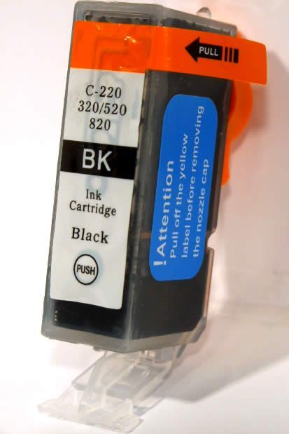 Image of Canon ink (itmedia) PGI-520 Black *No Chip* (IT3327)