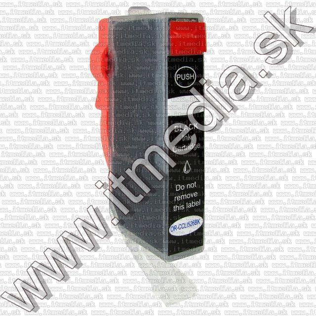Image of Canon ink (itmedia) CLI-526 Black **WITH CHIP** ECO (IT7175)