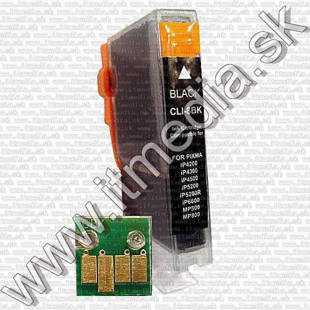 Image of Canon ink (itmedia) CLI-8 Black **WITH CHIP** (IT2565)