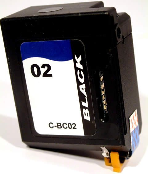 Image of Canon ink (itmedia) BC-02 black (IT2743)