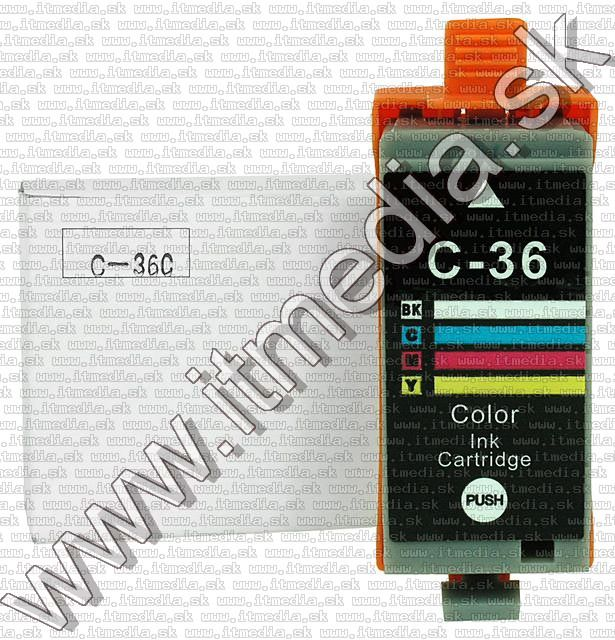 Image of Canon ink (itmedia) CLI-36 Color **WITH CHIP** (IT5350)