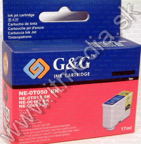 Image of Epson ink (GnG) 0T050 black (T013 187 093 comp.) (IT6466)