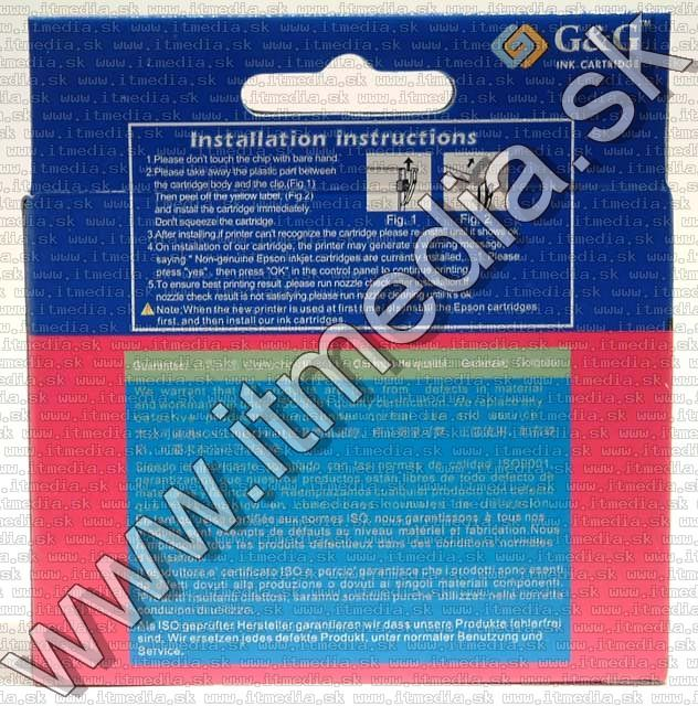Image of Epson ink (GnG) 0T871 *PBK* (IT4792)