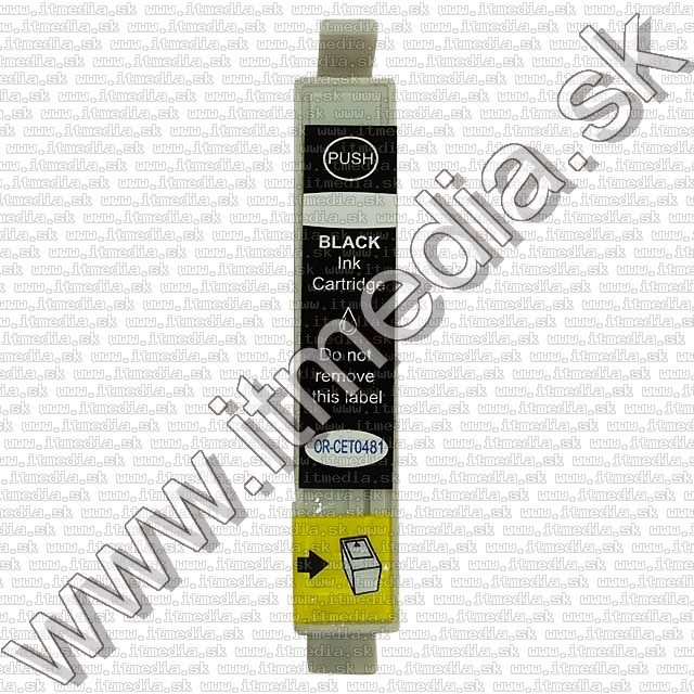 Image of Epson ink (itmedia) 0T481 black (OR) (IT0129)