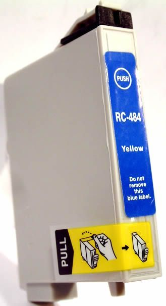 Image of Epson ink (itmedia) 0T484 yellow (OR) (IT0132)