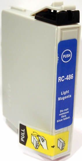 Image of Epson ink (itmedia) 0T486 photomagenta (OR) (IT0134)