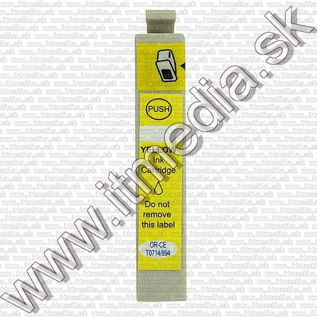 Image of Epson ink (itmedia) 0T714 v4 *yellow* (6.0) ECO (IT4742)