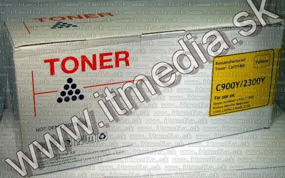 Image of EPSON toner (itmedia) C900 Yellow *rebuild* (IT3527)