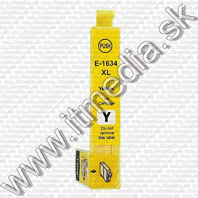 Image of Epson ink (itmedia) T1634 (16XL) Yellow (OR) (IT8938)