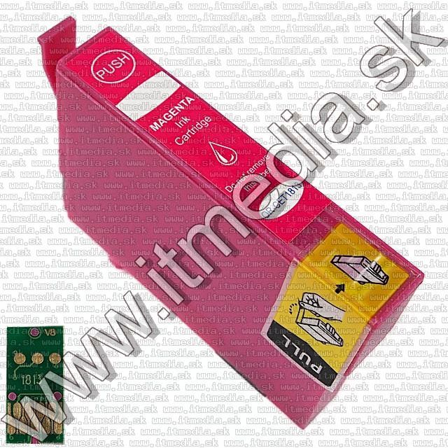 Image of Epson ink (itmedia) T1813 (18XL) Magenta (V8.1) (OR) (IT8933)