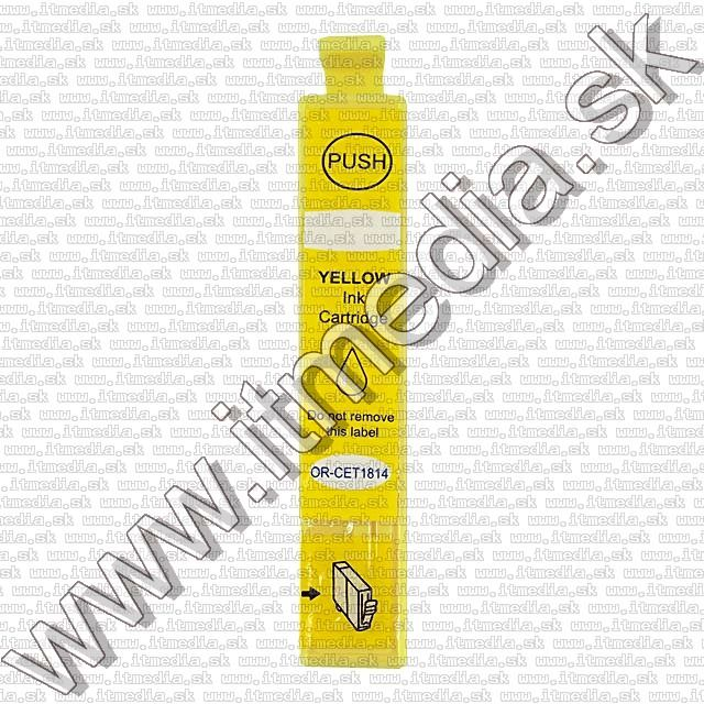 Image of Epson ink (itmedia) T1814 (18XL) Yellow (V8.1) (OR) (IT8934)