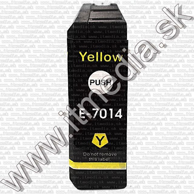Image of Epson ink (itmedia) T7014 (XXL) Yellow (OR) (IT8967)