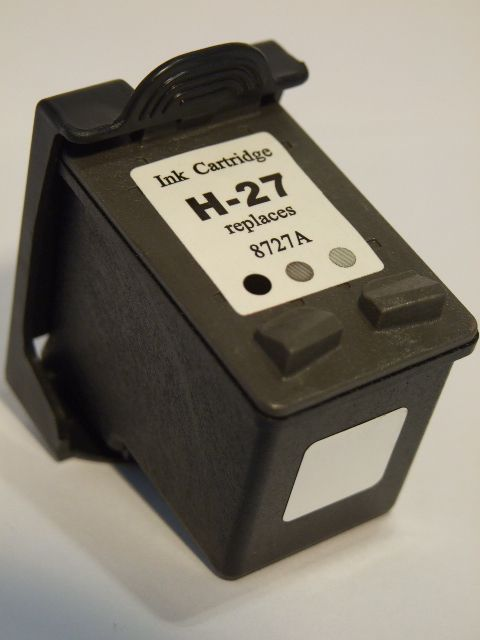 Image of HP ink (itmedia) 27 (C8727) black compatible 17ml (ECO) (IT2574)
