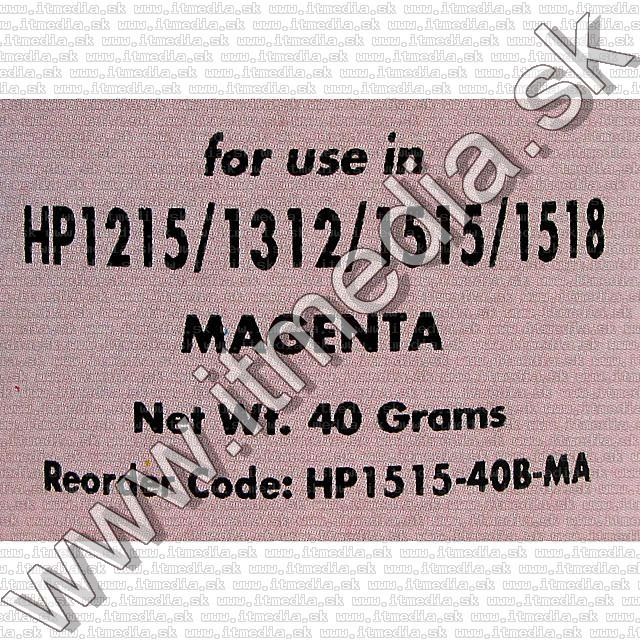 Image of IT Media HP 1500 refill powder Magenta 40g (IT2893)