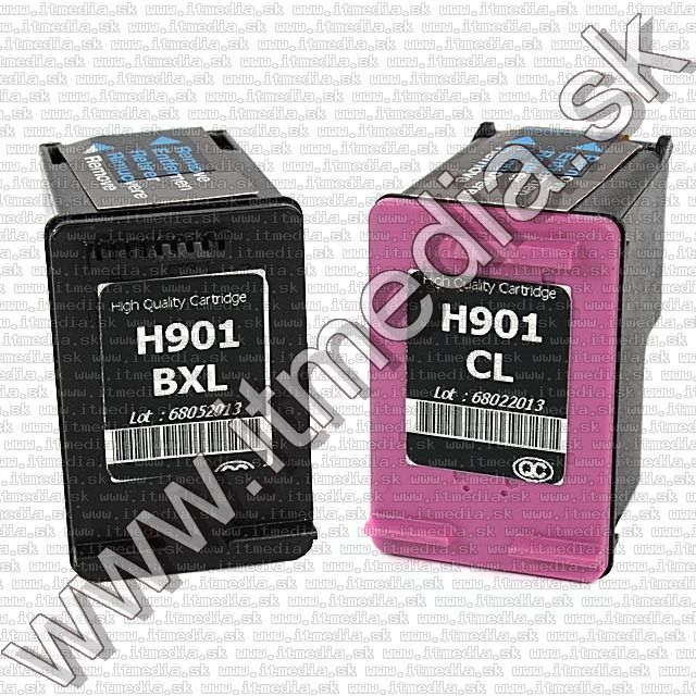 Image of HP (mediarange) Multipack 901XL Series (IT9085)