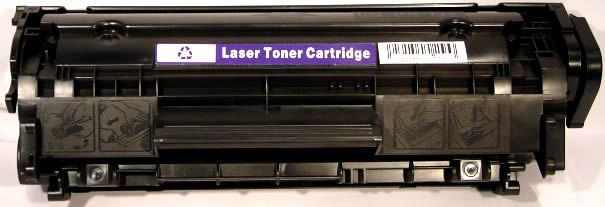 Image of HP toner (Compatible) C2612 black (ECO) (IT2612)