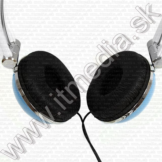 Image of EleCoom - Somao Headphones IN-988 *Baby Blue* (IT8015)