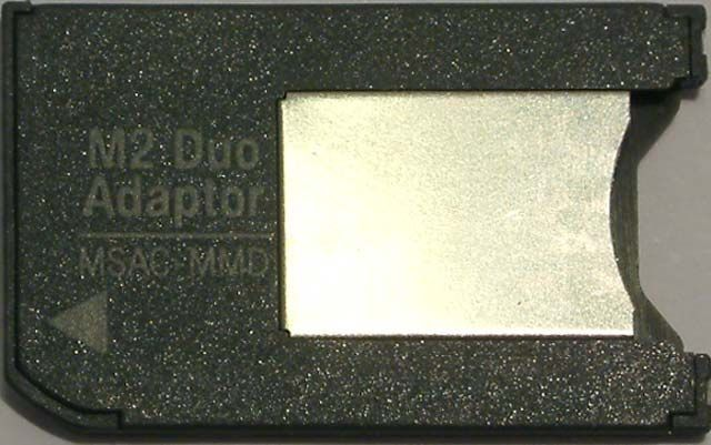 Image of M2 -to- MS Pro DUO(MemoryStick) ***ADAPTER*** (IT4296)