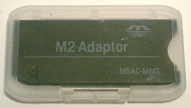 Image of M2 -to- MS (Memorystick Micro to MemoryStick standard) *ADAPTER* (IT4325)