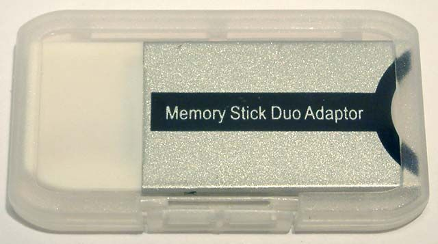 Image of MS Pro duo (MemoryStick Pro Duo to Memorystick standard) ***ADAPTER*** (IT4295)