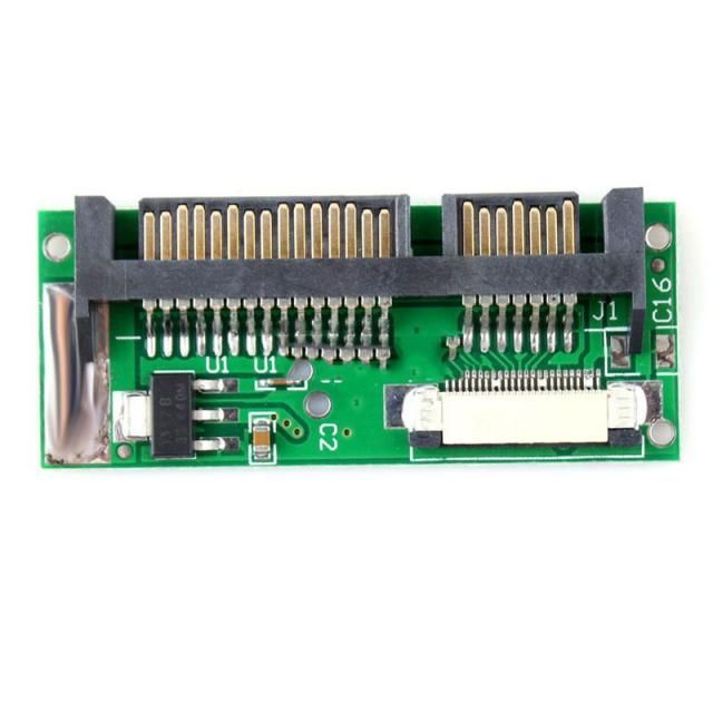 Image of Sata 7+15 to zif-24 (sata 1.8) converter (IT11241)