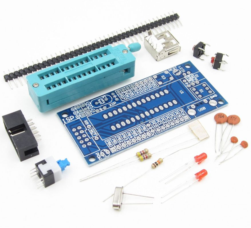 Image of Arduino Development Board for Atmega-xx8 DIP28 chips *KIT* INFO! (IT14098)