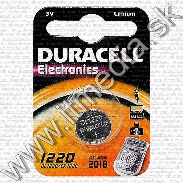 Image of Duracell Button Battery CR1220 *Lithium* (IT3495)