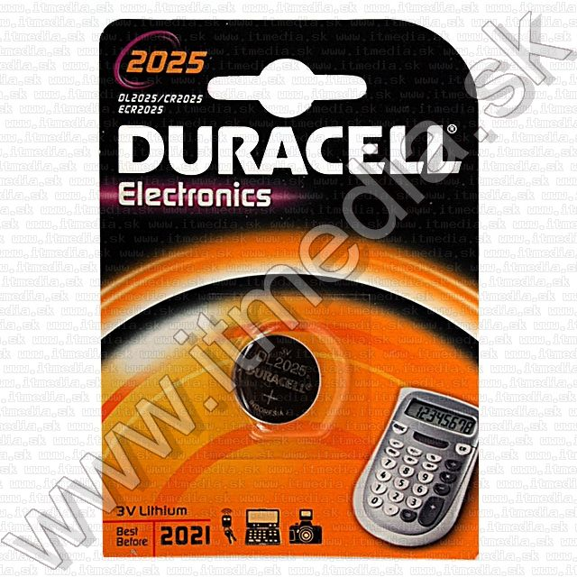 Image of Duracell Button Battery CR2025 *Lithium* (IT3498)
