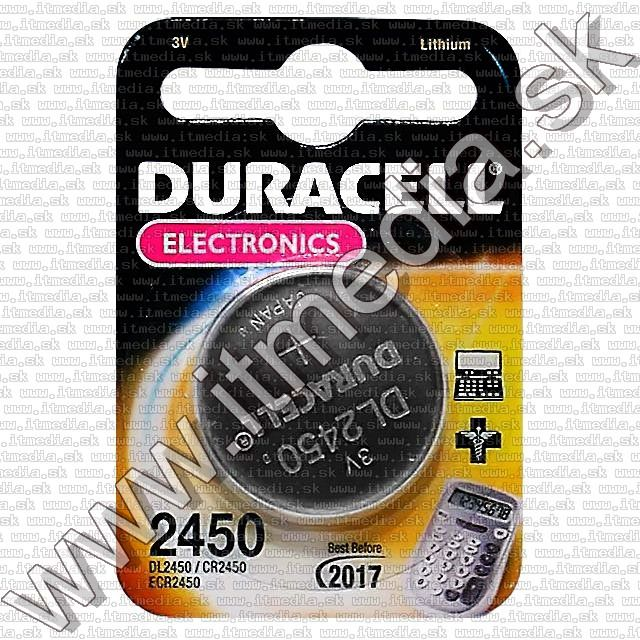 Image of Duracell CR2450tipusu Lithium gombelem (IT1671)