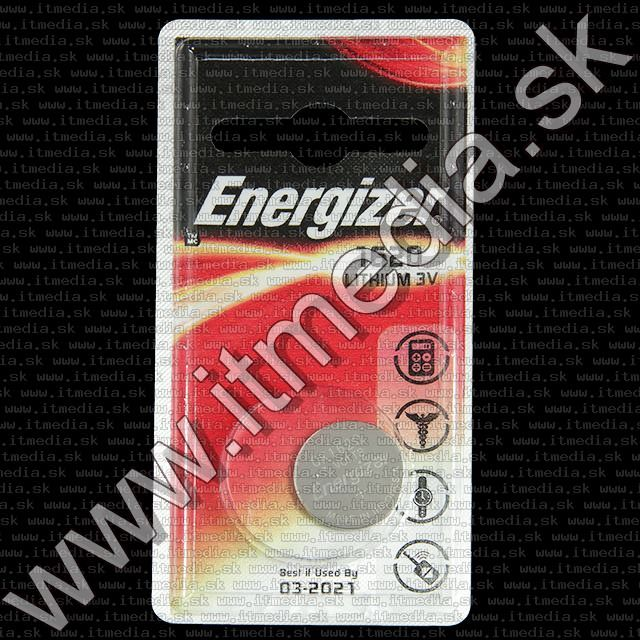 Image of Energizer Button Battery CR1620 *Lithium* (IT10054)