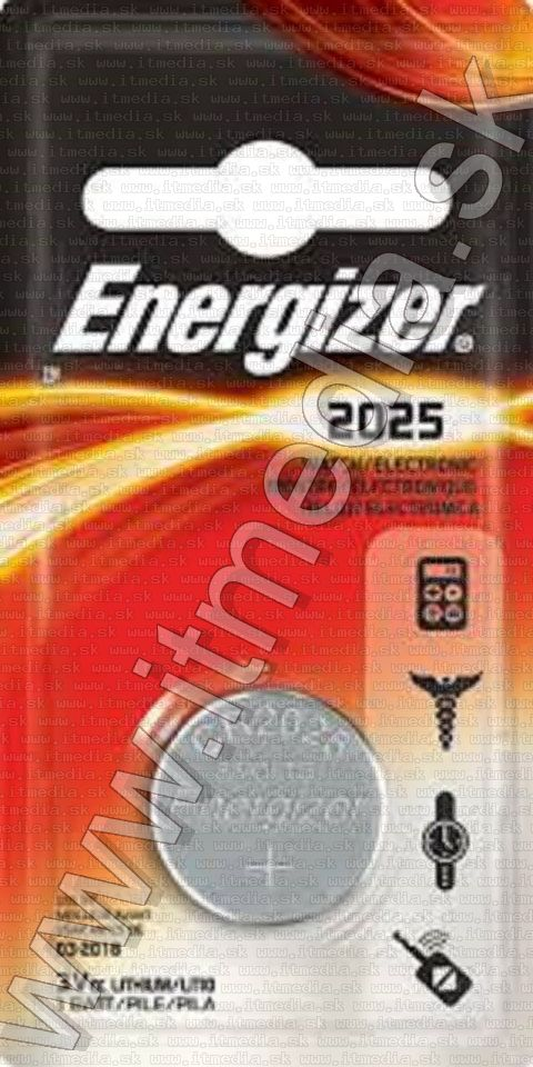 Image of Energizer Button Battery CR2025 *Lithium* (IT13834)