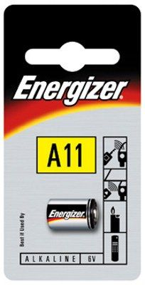 Image of Energizer battery A11 (E11A) Security 6v x2 DUO 2019-12 (IT5800)