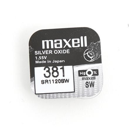 Image of Maxell SR1120SW (381) gombelem (IT10096)
