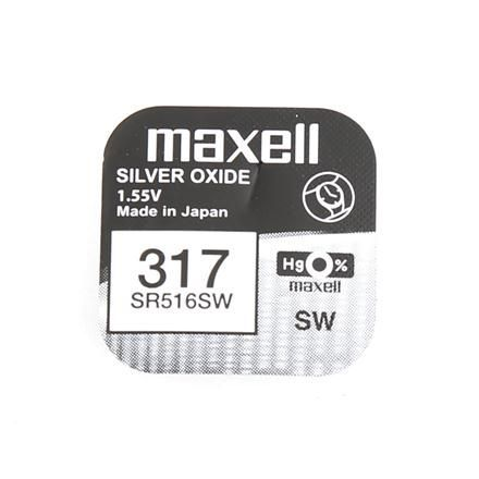 Image of Maxell SR516SW (317) gombelem (IT10098)