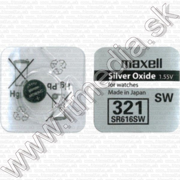 Image of Maxell SR616SW gombelem (IT7929)