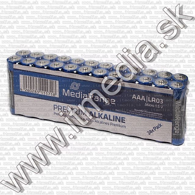 Image of MediaRange LR03 *AAA*alkali tartos elem 24db (IT7985)