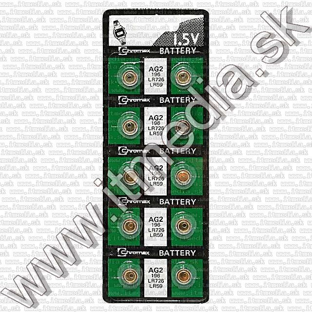 Image of Noname battery PACK (10-set) AG2 (LR726) (IT0570)